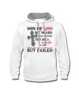 Son Of God Contrast Pullover Hoodie Sweatshirt - $36.99