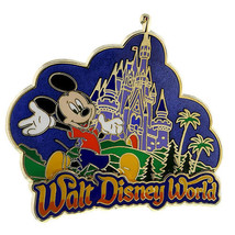 Disney Parks Mickey at the Castle Pin - $14.80