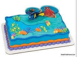 Finding Dory Nemo Cake Decoration Party Supplies TOPPER KIT Favor Ocean ... - $10.84