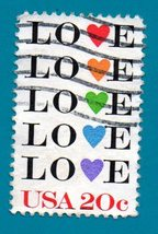 Scott  #2072 Used  US Stamp US Postage Stamp Single 1984 Love Issue 20 C... - $1.99