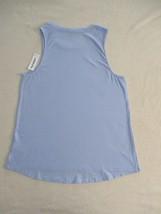 Old Navy Women Top M Blue Swing  Hi Low Sleeveless Cotton 18114 - $8.79