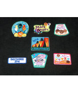 (7) Mixed 2016 GIRL SCOUTS OFFICIAL Patches Badges for Sash, Vest Journe... - $19.78