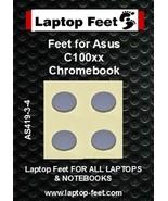 Laptop feet for Asus C100xx Chromebook compatible kit  (4  pcs self adhe... - $13.59