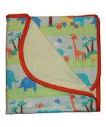 Preemie & Newborn Baby Boys Jungle Flannel Receiving Blanket - $17.00