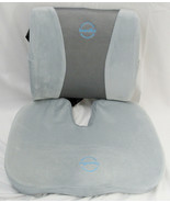 Banana Blue Office Chair Padded U Seat And Back Support Gray Velour Cover - $24.99