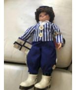 Vintage 1986 Limited Edition Brinns Calendar Clown School Days Doll Nwt - $44.94