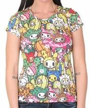Tokidoki Mujer Saguaro Cactus Friends Camiseta Anime Sandy Bastardino Carina Nwt