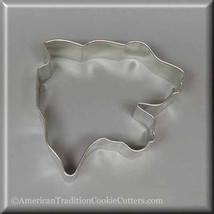 "3.5"" Panther Head Metal Cookie Cutter #NA6055 - $1.75"
