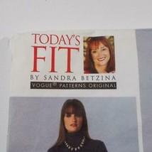 Todays Fit Vogue Pants Pattern V1411 Sandra Betzina Size OSZ Uncut image 2
