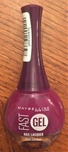 Maybelline Fas Gel Nail Lacquer #120 Wicked Berry - $7.79