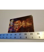 Piccadilly at Night London Postcard Map England UK Postal Card Home Trea... - $9.49