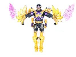 "Power Rangers Mystic Force Black Ranger to Dragon 7"" Figure -  2005 Bandai - $16.83"