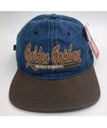 Vintage Minnesota Golden Gophers Strapback Denim Hat NWT NCAA Football - $14.10