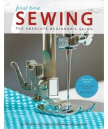 First Time SEWING The Absolute Beginner's Guide - $13.95