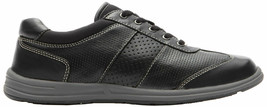 ROCKPORT Women's XCS Walk Together Lace Up T-Toe Sneaker Shoes Black Size 7 M - $49.49