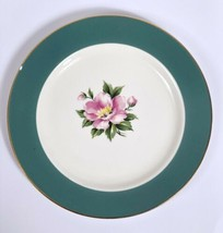 Homer Laughlin Century Svc Empire Green Lunch Dessert Bread Plate *HAS CHIP* (A) - $9.79