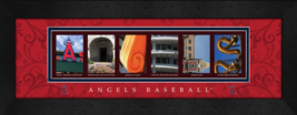 Los Angeles Angels of Anaheim Officially Licensed Framed Letter Art - $39.95