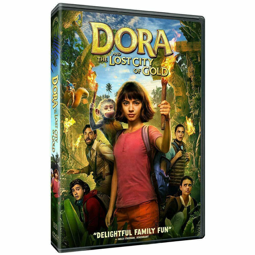 Dora and the Lost City of Gold DVD 2019 Brand New Sealed