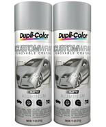 (Pack of 2) Dupli-Color Custom Wrap Matte Aluminum Metallic 11 oz. Aerosol - $21.77