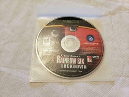 Tom Clancy's Rainbow Six Lockdown Video Game Microsoft Xbox - GAME DISC ... - $6.83