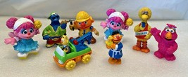 "Sesame Street - Vintage Applause & Others 2""-4"" Pvc Figures - Lot Of 8 - $12.86"