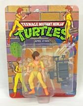 Playmates Teenage Mutant Ninja Turtles April O'Neil Toy Figure Vintage 1... - $31.95