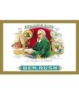 Benjamin Rush Cigars - Art Print - $19.99+
