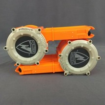 Lot of 2 NERF N-STRIKE CS-18 Round Soft Dart Mag Ammo Drum Barrel Clip - $19.30