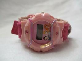 Disney Princess Digital Wristwatch Pink Hook & Loop Band - $29.00