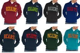 NFL Playing Field Hoodie Men's Pullover Hooded Sweatshirt Licensed Authentic NEW