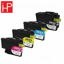 Compatible Non-OEM Ink replacement LC3033 Brother MFC-J995DW Super High ... - $45.29