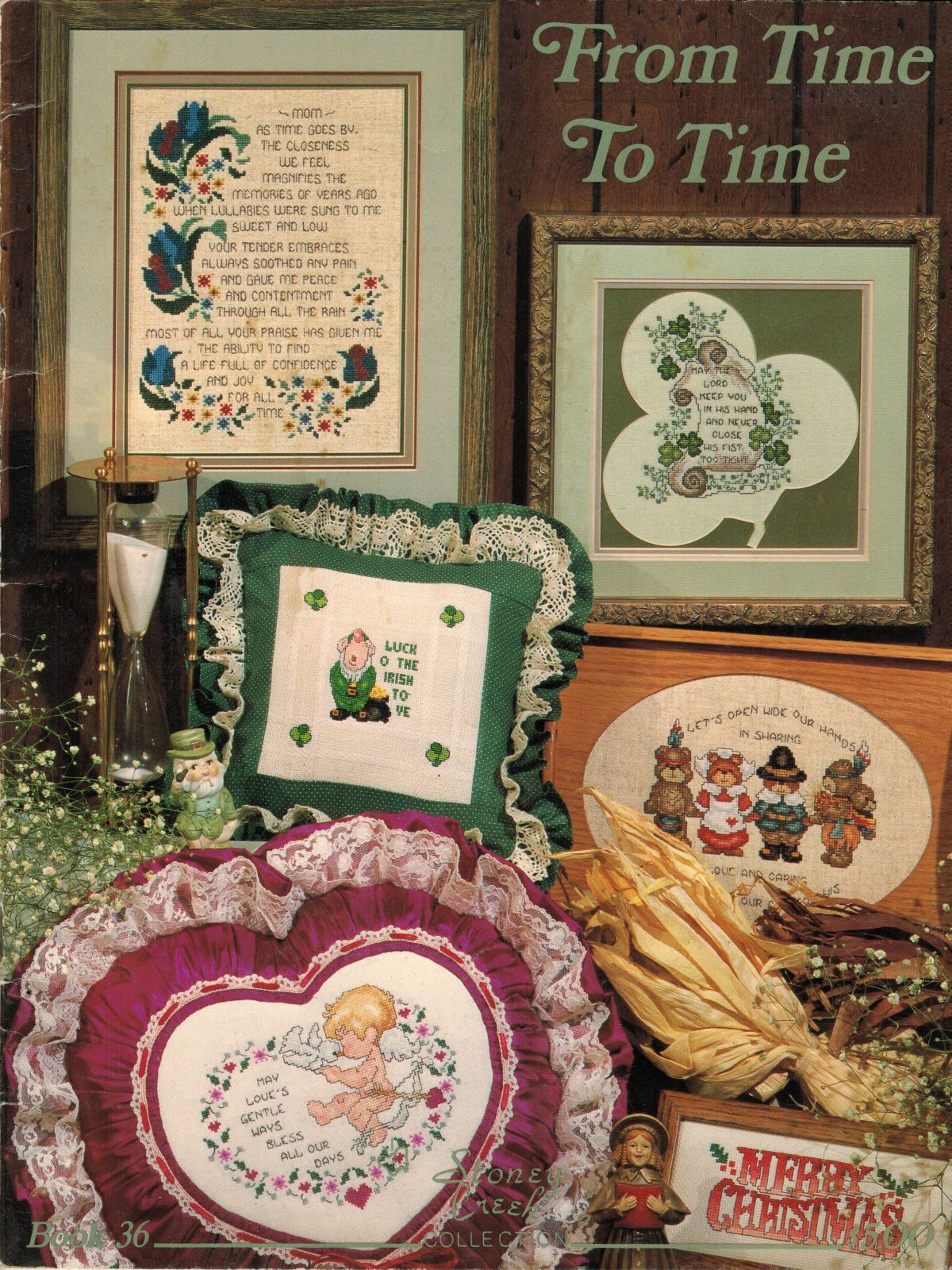 Primary image for Cross Stitch 21 Thanksgiving Xmas Easter St Patricks Day Grad Retirement Pattern