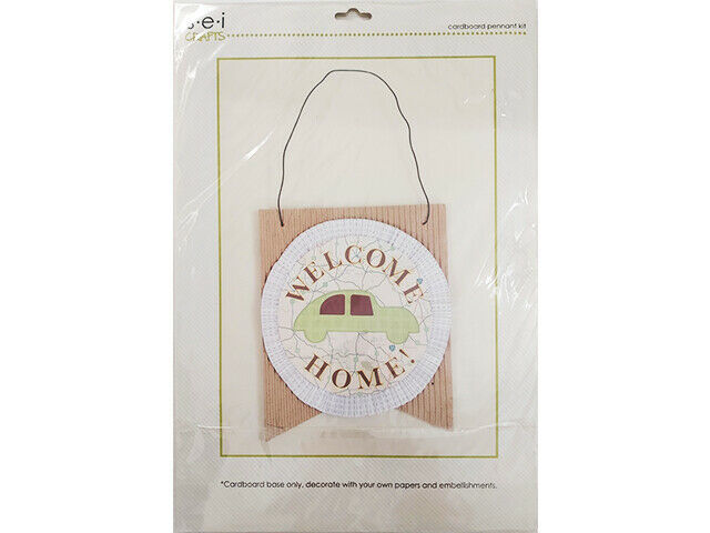SEI Crafts Cardboard Pennant & Hanging Wire Kit