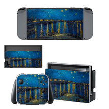 Starry night  decal for Nintendo switch console sticker skin - $15.00