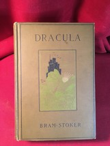 DRACULA by Bram Stoker. Early Doubleday hardback with Decorative Cover - $1,666.00