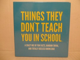 Things They Don't Teach You in School~New~Sealed~Hygge games~Party~Trivi... - $29.69