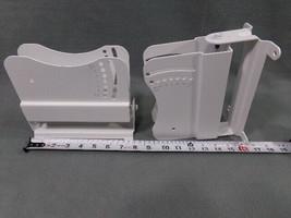 2 pressed steel Security Camera Brackets adjustable angle & swivel mounting - $20.00