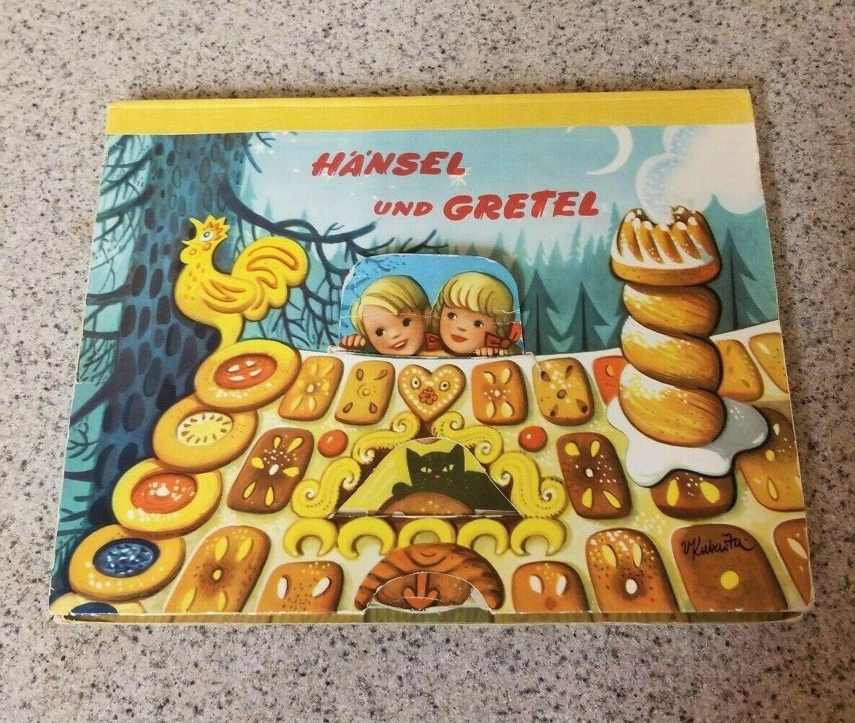 Vintage Pop Up Book 1961 Hansel and Gretel Westminster Books/Bancroft & Co.