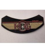 "NEW 2001 Harley-Davidson Owners Group HOG Rocker Patch 5.75"" - $11.10"
