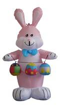 Easter Inflatable Rabbit Bunny Eggs Yard Lawn Spring Indoor Outdoor Deco... - $59.00