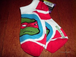 SOCKS ANKLE BOYS PACK Teenage mutant ninja turtles TMNT New NIP NWT Movie - $5.93