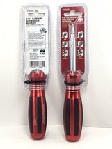 (NEW) (2) Ace 6 In 1 Aluminum Screwdriver and /nutdriver w/ Cushion Grip 2192839 - $22.04