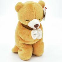 1998/1999 Ty Beanie Baby Original Hope the Praying Bear Beanbag Plush Doll Toy image 4