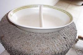 Franciscan divided oval bowl (Hacienda Green) 1 availab - $15.05