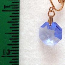 Crystal Octagon Earrings image 3