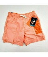 Trunks Boys Magic Print Swimming Trunks Size Medium Peach QG1 - $13.85