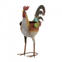 Multi-colored Rooster Planter - $34.32