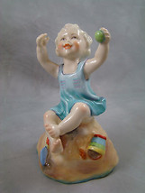 1950 Royal Worcester Sunday's Child Sabbath Figurine 4 7/8 inches tall V... - $128.69