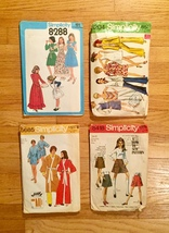 Vintage Sewing Patterns: McCalls, Simplicity, Kwik-Sew, Butterick: 60s and 70s image 6