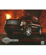 2010 Ford F-150 HARLEY-DAVIDSON edition sales brochure sheet US 10 F series - $8.00